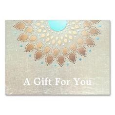 Gold Lotus Salon and Spa Gift Card Business Cards. Make your own business card with this great design. All you need is to add your info to this template. Click the image to try it out!