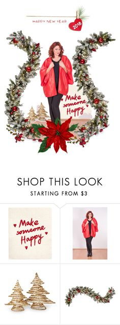 """""""Red Satin Robe Short Red Satin Kimono Cardigan"""" by msxlsfashiondesign on Polyvore featuring National Tree Company and Improvements"""