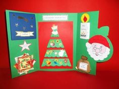 Lap book Ti racconto il Natale Christmas Projects For Kids, Christmas Time, Merry Christmas, Arts And Crafts Projects, Crafts For Kids, Projects To Try, Lap Book Templates, Picture Cards, Handmade Books