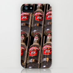 Smirnoff Ice Bottles iPhone & iPod Case by Guna Andersone - $35.00