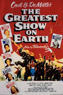 The Greatest Show on Earth is a 1952 drama film set in the Ringling Bros. and Barnum & Bailey Circus and starring Betty Hutton, Cornel Wilde, and Charlton Heston.