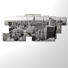 Picture  -  239x101 - Multipanel and multilevel 3D - Big size - New York. Today 60% discount!!!