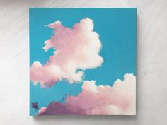 cloud painting by Kylie Bowers   www.kyliebowers.com
