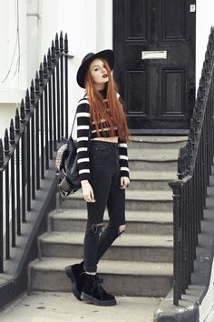 Olivia Emily - UK Fashion Blog.: Casual Stripes.