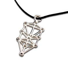 Tree of Life pendant - A Golden Symbol of Life, Unity, and Love. The Tree of Life is one of the most familiar of the Sacred Geometry Symbols. The structure of the Tree of Life is connected to the sacred teachings of the Jewish Kabbalah but can be seen in other traditions as well, such as the ancient Egyptian tradition.