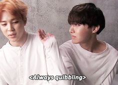BTS   JIMIN and JHOPE
