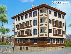 apartman dış cephe boya örnekleri ile ilgili görsel sonucu Multi Story Building