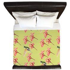 Hummingbird, King Duvet