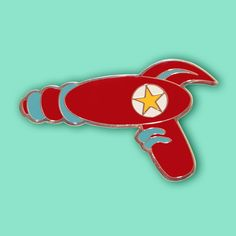 18 Days Left to Shop at Dollydagger! Retro Raygun Brooch now just £6.00 #raygunbrooch #retro #brooch #retroraygunbrooch #red #retroraygun #clearance #raygun #sale #dollydagger https://goo.gl/6FSxoR
