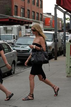 Kate Moss in a Litlle Black Dress