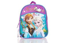 "Disney Frozen Mini Backpack (Purple/Blue)   She'll love this perfect bag for her everyday use, plus her favorite Frozen characters add the icing on a very colorful cake.   Features:  * Zipper opening to main compartment * Adjustable straps  * Size: 11"" X 8"" X 3"" . To order: http://www.shopaholic.com.ph/#!/Disney-Frozen-Mini-Backpack-Purple-Blue/p/46017557"