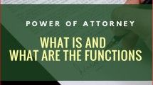 What is and what are the functions of a power of attorney?