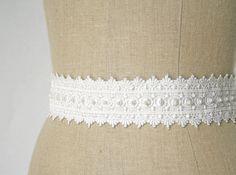 Lace Bridal Sash Wedding Belt