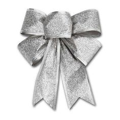 Christmas Glitter Bows Bowknot Door Window Wreath Tree Topper Xmas Decoration US Christmas Tree Bows, Christmas Eve Box Fillers, Luxury Christmas Tree, Cheap Christmas, Christmas Store, Christmas Glitter, Hanging Ornaments, Christmas Tree Ornaments, Tree Toppers