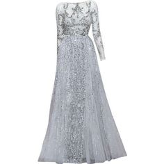| gowns & glam found on Polyvore featuring dresses, gowns and long dresses