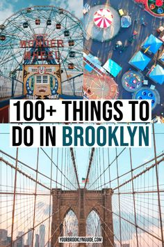 100 Things to do in Brooklyn | Brooklyn New York | Things to do in Williamsburg Brooklyn | Things to do in DUMBO Brooklyn | Brooklyn photography | Brooklyn Food | Brooklyn nightlife | where to go in Brooklyn | what to do in Brooklyn | Brooklyn instagram locations | cool things to do in Brooklyn | Brooklyn Travel Guide | Brooklyn travel tips | Brooklyn Bridge | things to do in NYC | things to do in New York City | NYC tips  | NYC Instagram locations #brooklyn #nyc #newyorkcity #travelguide