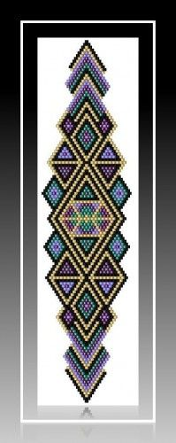 Peyote or Brick? Bead Work~~~~~~~~~~~~~~Here is another idea... frame your work!