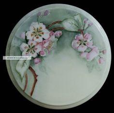TRIVET Porcelain Floral Trivet With Hand Painted Blossom Design