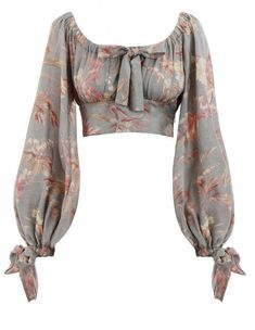 Shop for Unbridled Maiden Blouse by Zimmermann at ShopStyle. Look Fashion, Fashion Outfits, Fashion Design, Retro Fashion, High Fashion, Fashion Trends, Stylish Blouse Design, Looks Chic, Looks Vintage