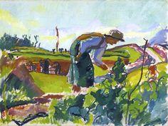 Giovanni Giacometti - Feldarbeiter 1922
