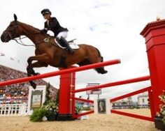 Germany takes Olympic gold in Team Eventing, topping Britain and New Zealand.
