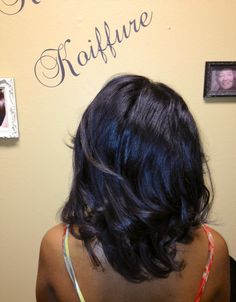 Natural hair blowout!  HoustonBlowouts.com