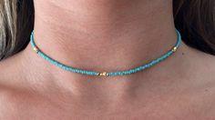 Turquoise Beachy Choker