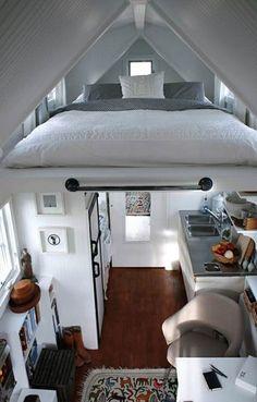 Ideas para ganar espacio en dormitorios