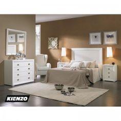 Aprovecha de esta fantastica oferta que podrás adquirir un fantástico dormitorio de matrimonio fabricado en madera color cerezo o lacado en blanco, aun nos quedan unidades en nuestro . Este y mucho mas en www.kienzo.com siempre incorporando nuevas ideas.
