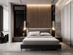 Скандинавский функционализм on Behance | Bedroom | Pinterest ...