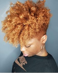 2019 Simple and Outstanding Natural Hairstyles - Naija's Daily Natural Hair Short Cuts, Tapered Natural Hair, Short Hair Cuts, Natural Hair Styles, Curly Hair Styles, Mohawk Styles, Tapered Haircut, Queen Hair, Hair Looks