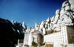 The Benedictine Monastery of Montserrat sits high in the cliffs of the mountains above Manresa, 37 miles west of Barcelona. It has become one of the most popular pilgrimage destinations in Spain, following an apparition by the Virgin Mary over 1,000 years ago.
