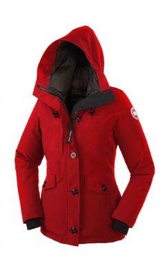 Canada Goose Rideau Parka Red Women #canadagoose #rideau #parka #jacket #thanksgiving #Halloween #blackFriday