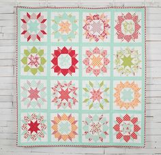 Moda Hello Darling Swoon Quilt - White