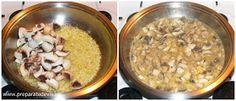 Ciulama de ciuperci preparare Oatmeal, Grains, Breakfast, Food, The Oatmeal, Morning Coffee, Rolled Oats, Essen, Meals