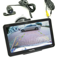 "XGODY 7"" Car GPS Navigation Sat Nav+Rearview Camera Bluetooth AV-IN New Map 4GB #XGODY"