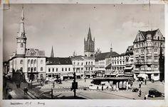 Rynek (Ring / Marktplatz / pl. Maciejewskiej), Bytom - 1938 rok, stare zdjęcia