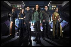 Syfy released Character Photos of Killjoys--Oree, Pawter, John, Dutch, D'avin…