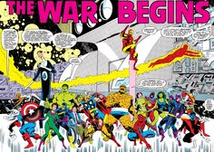Anthony and Joe Russo offer up they wouldn't mind tackling Secret Wars in the MCU! The Russo brothers have been busy developing The Avengers: Infinity War and Avengers 4 at Marvel Studios. Marvel Comics, Comics Spiderman, War Comics, Marvel Dc, Thor Series, Marvel Series, Saga, Marvel Universe, Crossover
