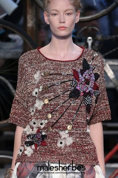 "maison-malesherbes:  "" [ Fashion ] Antonio Marras SS2015  Please follow us on our FACKBOOK page, if you interested and also to know more about us and crochet, knitting, arts, fashion, movies and more…  https://www.facebook.com/maisonmalesherbes/  """