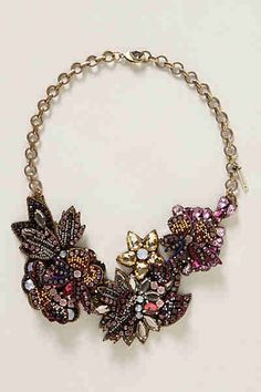 Broach necklace, Anthropology