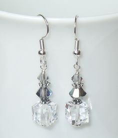 A personal favorite from my Etsy shop https://www.etsy.com/listing/190463364/ombre-shades-of-gray-swarovski-crystal