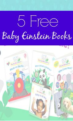 Snag 5 Baby Einstein baby books for free. I love this freebie!   Kate, Owner CouponCravings.com