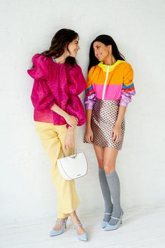 How Leandra and Her Best Friend Style Each Other Light Blue Shoes, Indian Prints, Leandra Medine, Purple Blouse, Satin Pumps, Other Outfits, Ulla Johnson, All About Fashion, Fasion