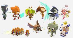 ANKAMA Convention 6, Zobals et Roublards, SD chara designs 2 join us http://pinterest.com/koztar/