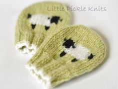 Baa Baa Baby Mittens by Linda Whaley - Digital Version – Deramores