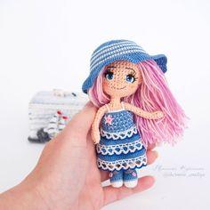 583 отметок «Нравится», 46 комментариев — МилашкаКукляшка Кукла Амигурум (@chernova_emiliya) в Instagram: «Привет! Вы готовы к новой порции мимимишности? #милашка_кукляшка  #weamiguru #amigurimi…»