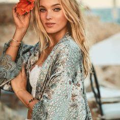 The happiest hours are spent in kimonos. | Victoria's Secret