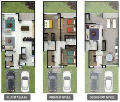 Novara - Casas en lomas de Angelópolis modelo Potenza - Urbana México