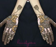 Henna is a celebration on its own, radiating positive vibes everywhere